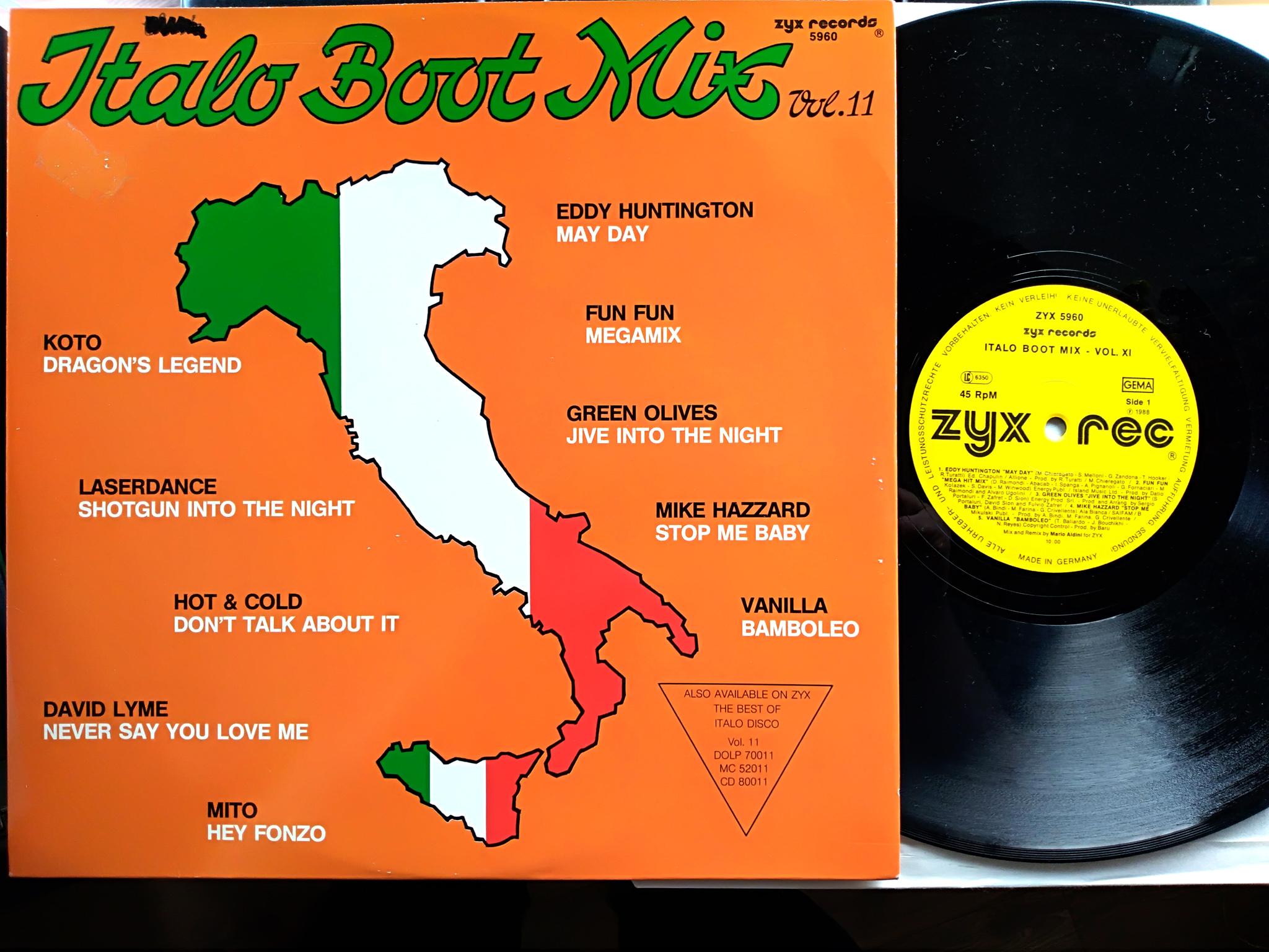 Italo Boot Mix - Vol.11 1988