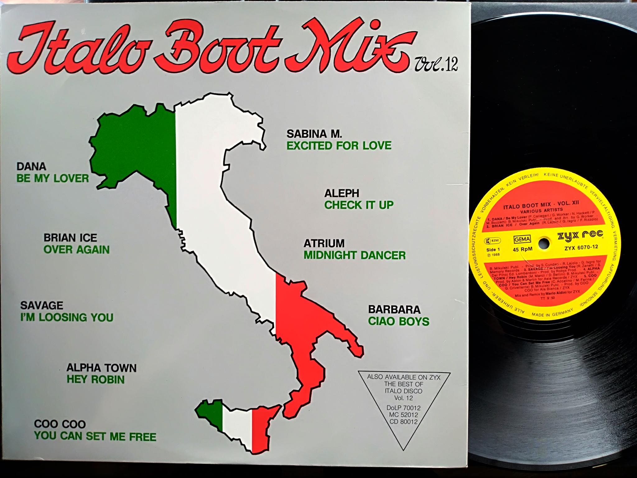 Italo Boot Mix - Vol.12 1988