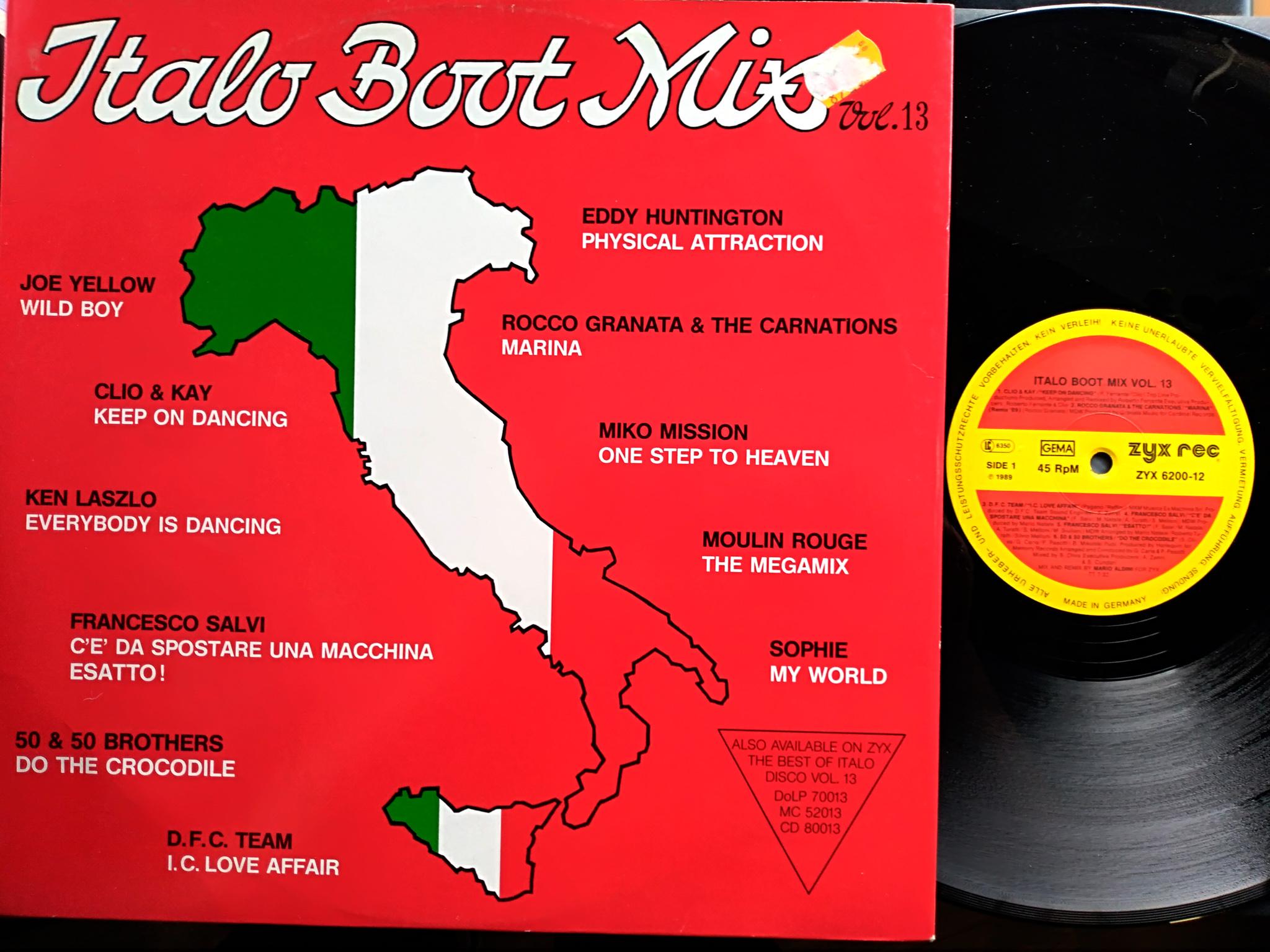 Italo Boot Mix - Vol.13 1989