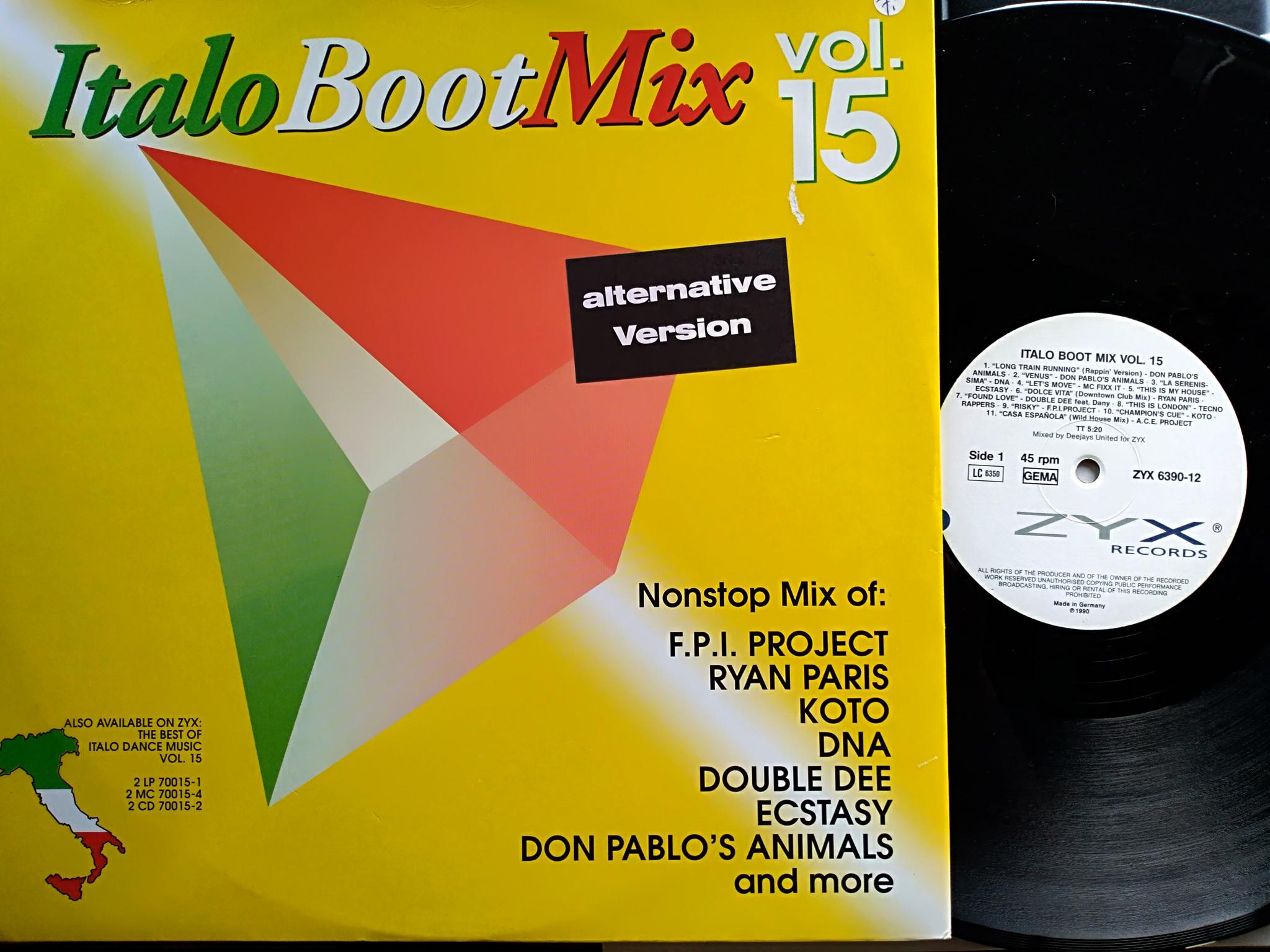Italo Boot Mix - Vol.15 1990