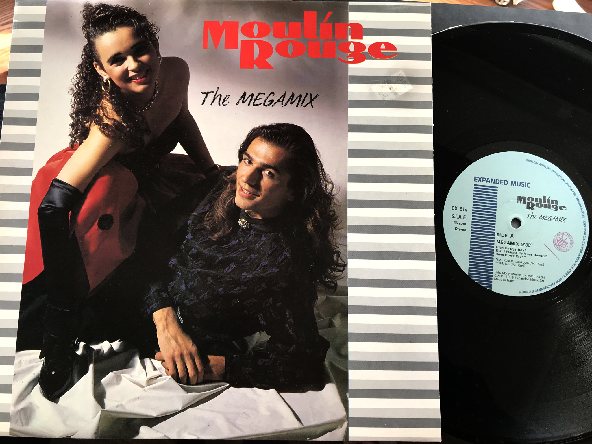 Moulin Rouge - The Megamix  High Energy Boy