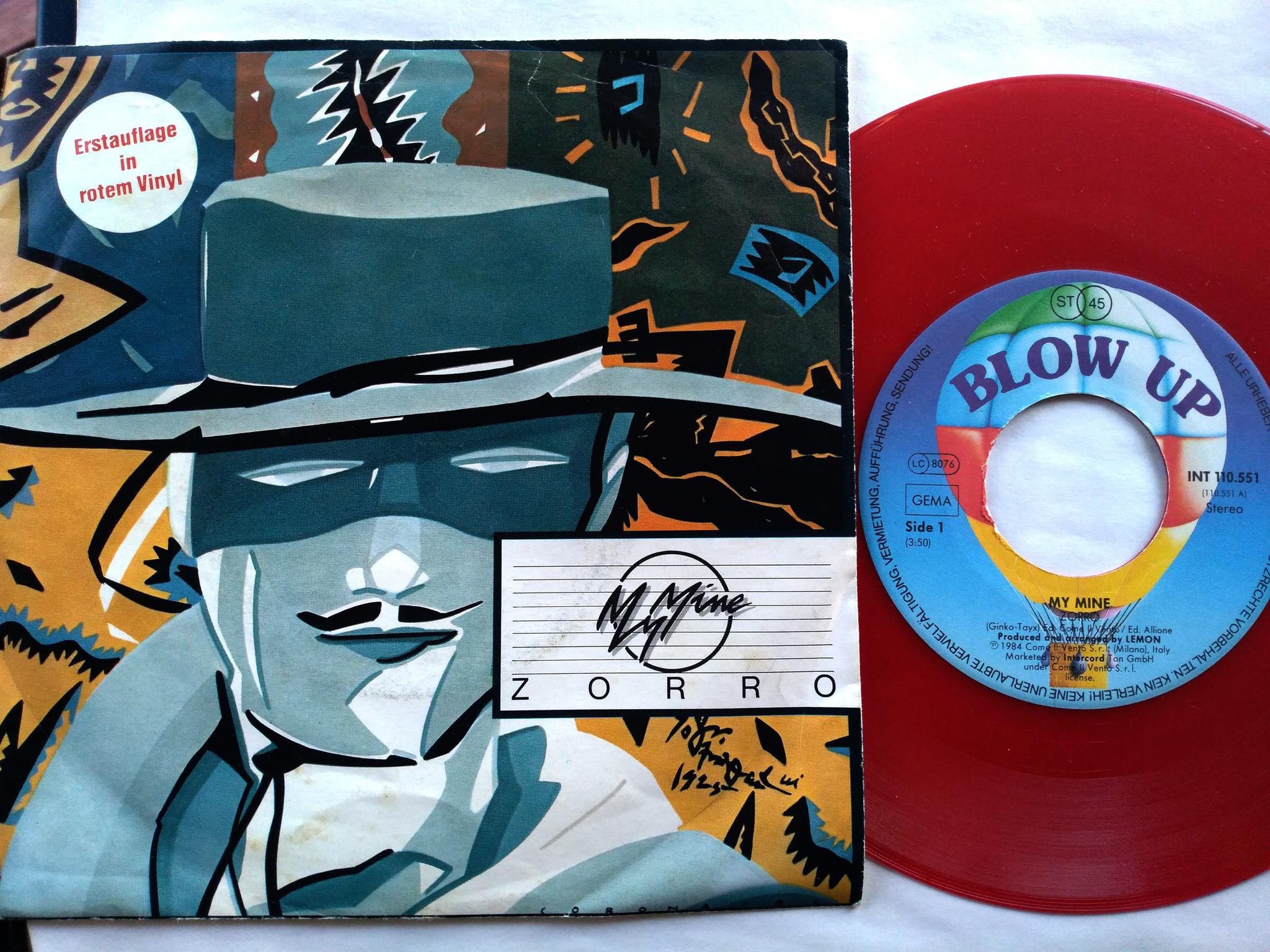 My Mine - Zorro 7'