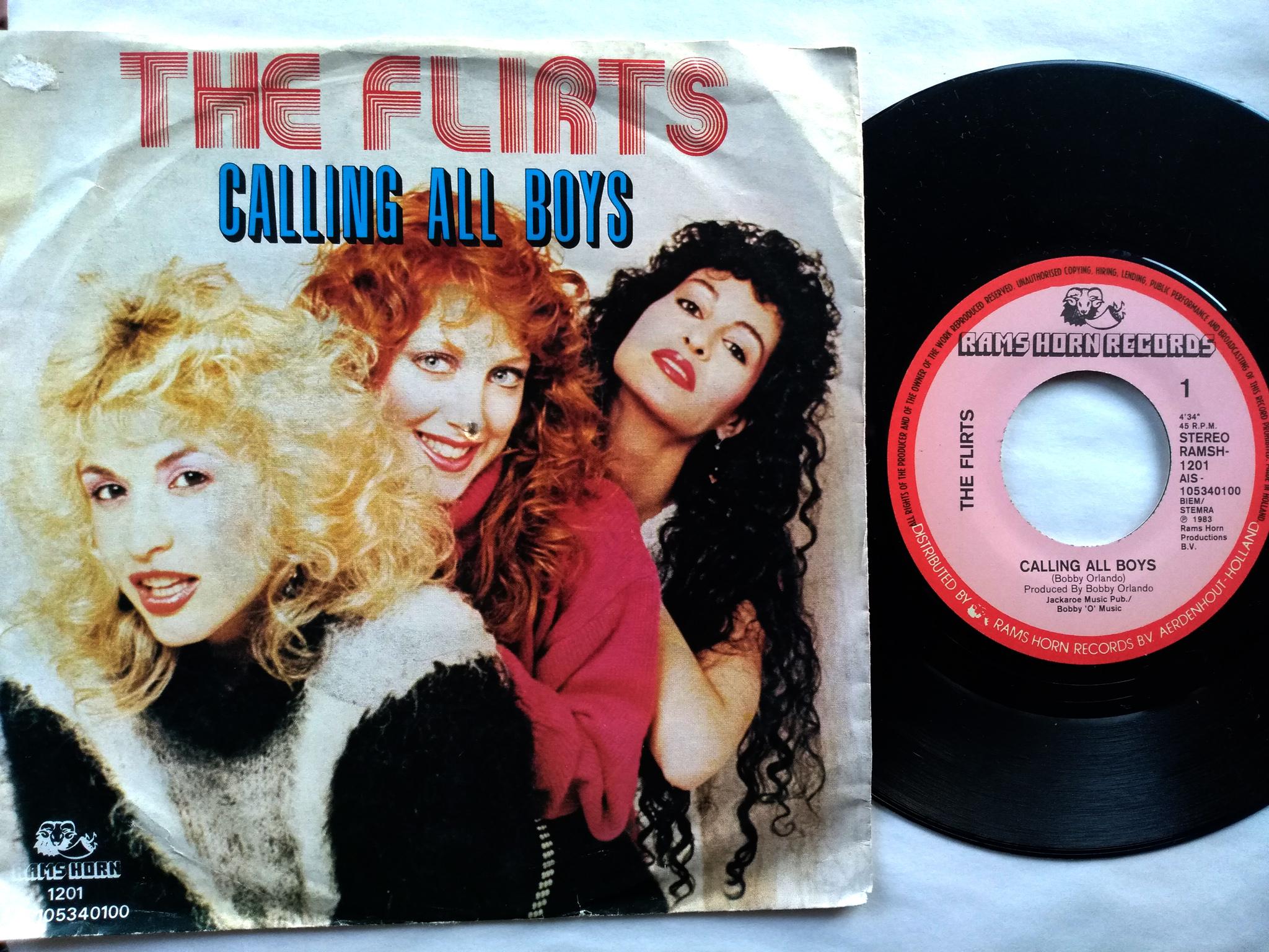 The Flirts - Calling All Boys 7'