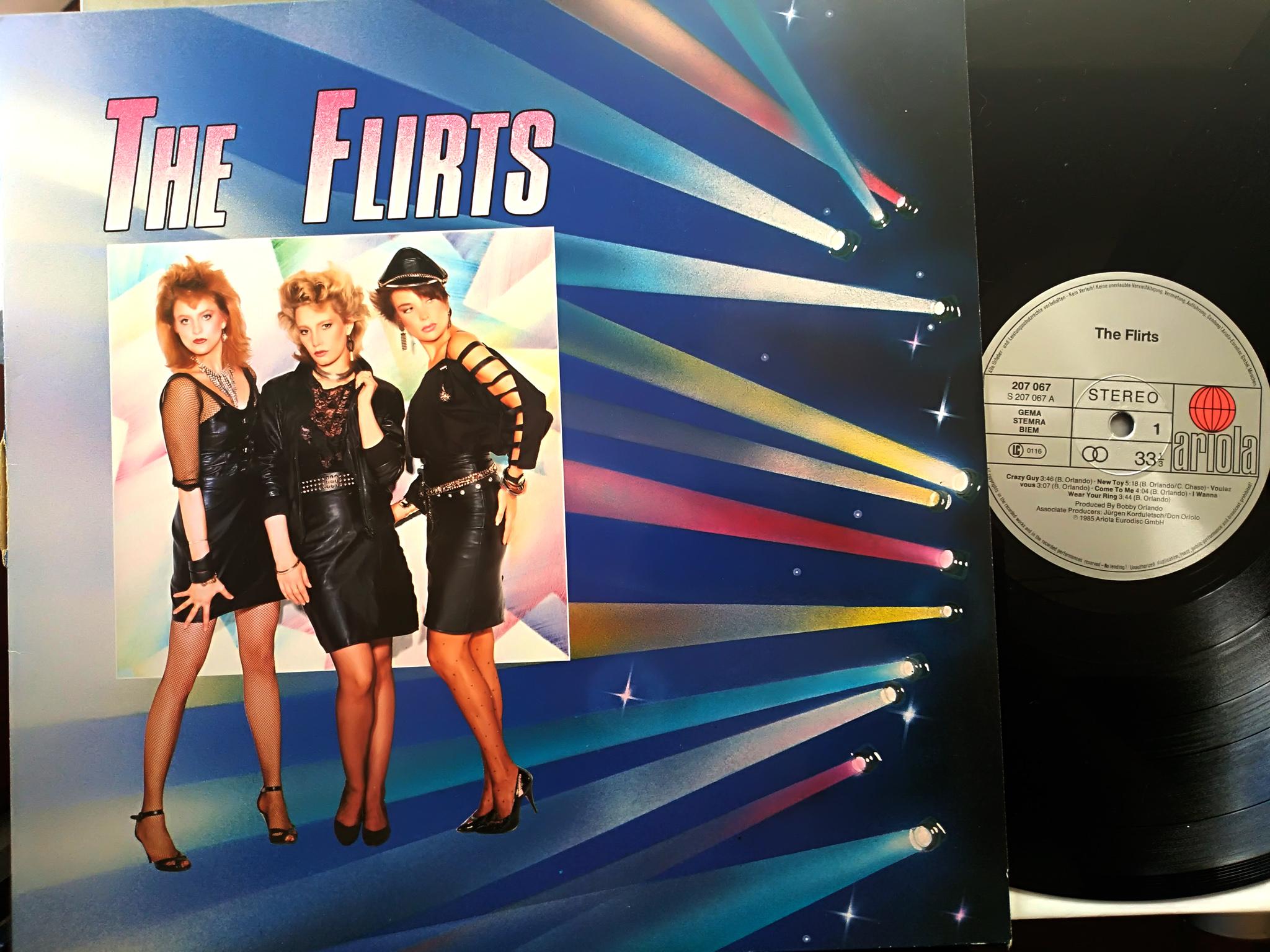 The Flirts - The Flirts LP
