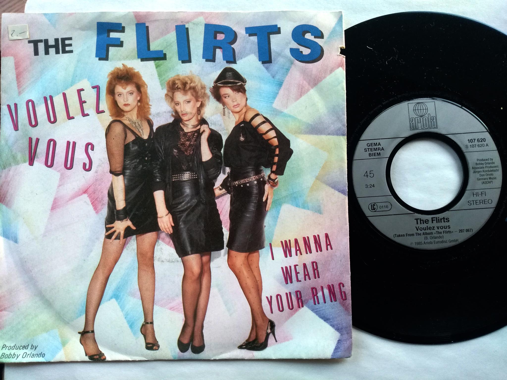 The Flirts - Voulez Vous 7'