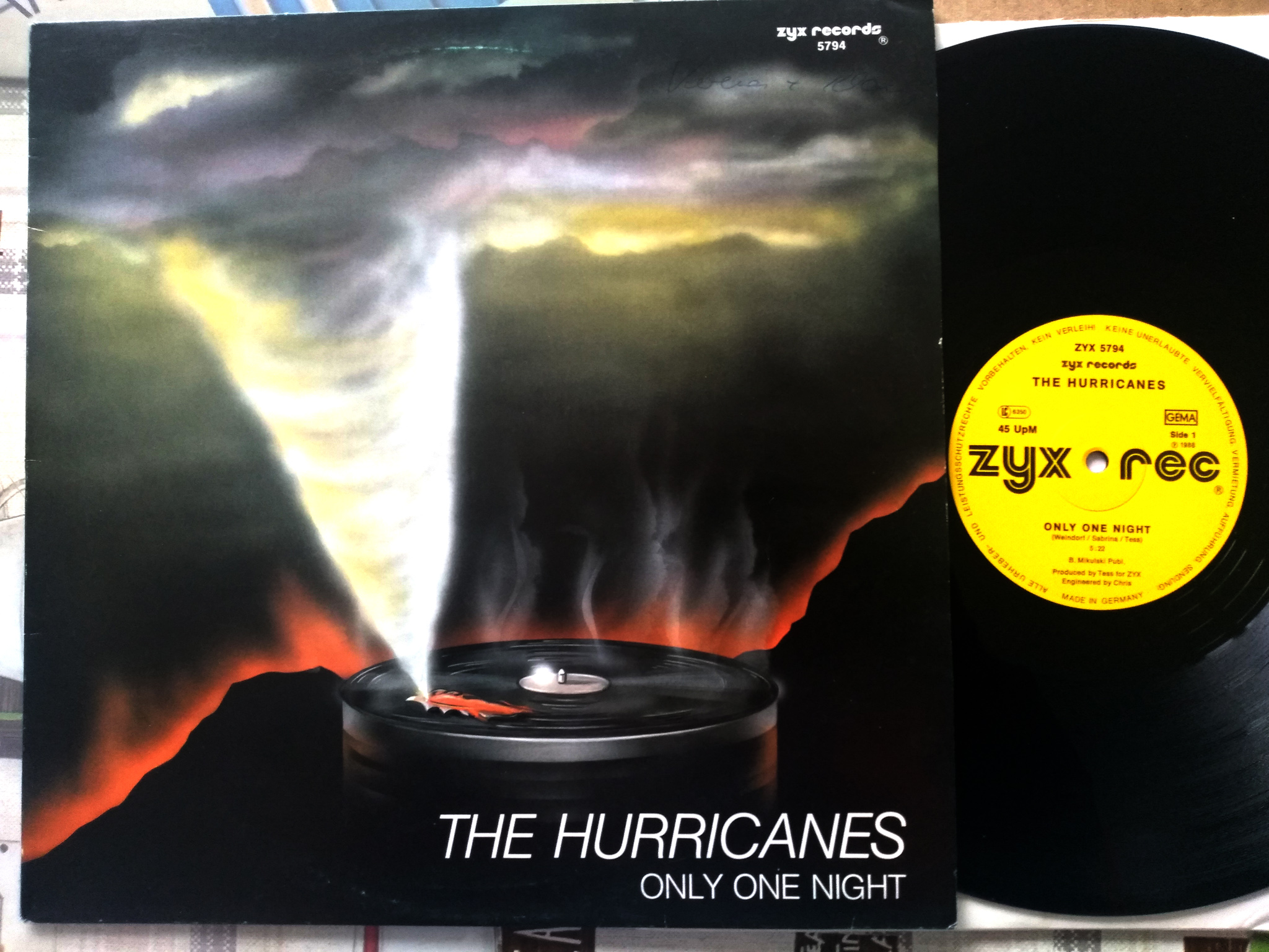 The Hurricanes - Only One Nght