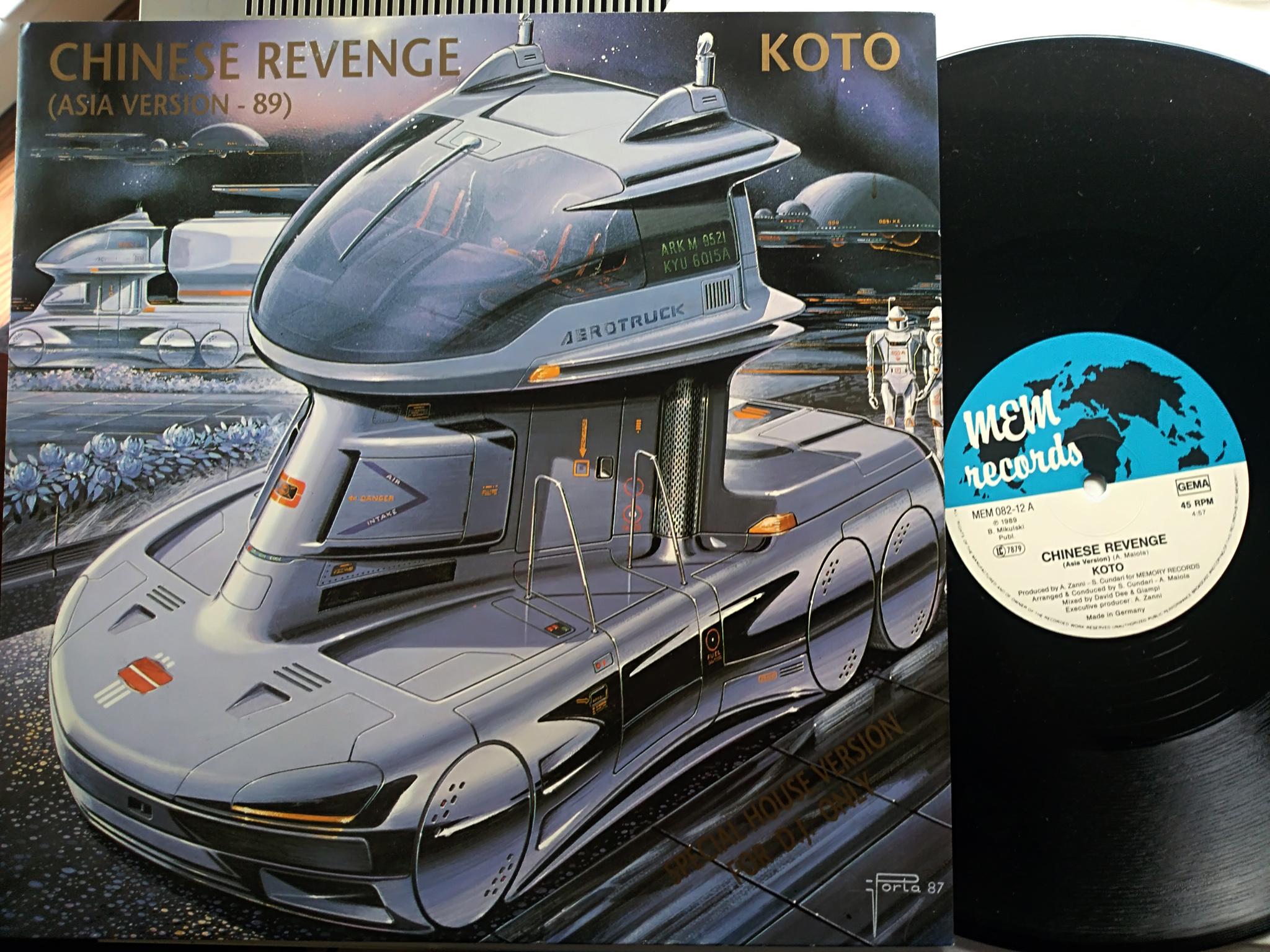 Koto - Chinese Revenge (Asia Version 89)