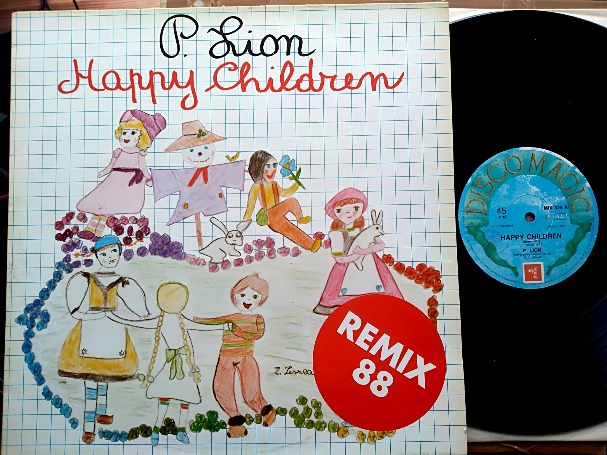 P. Lion - Happy Children (Remix 88)